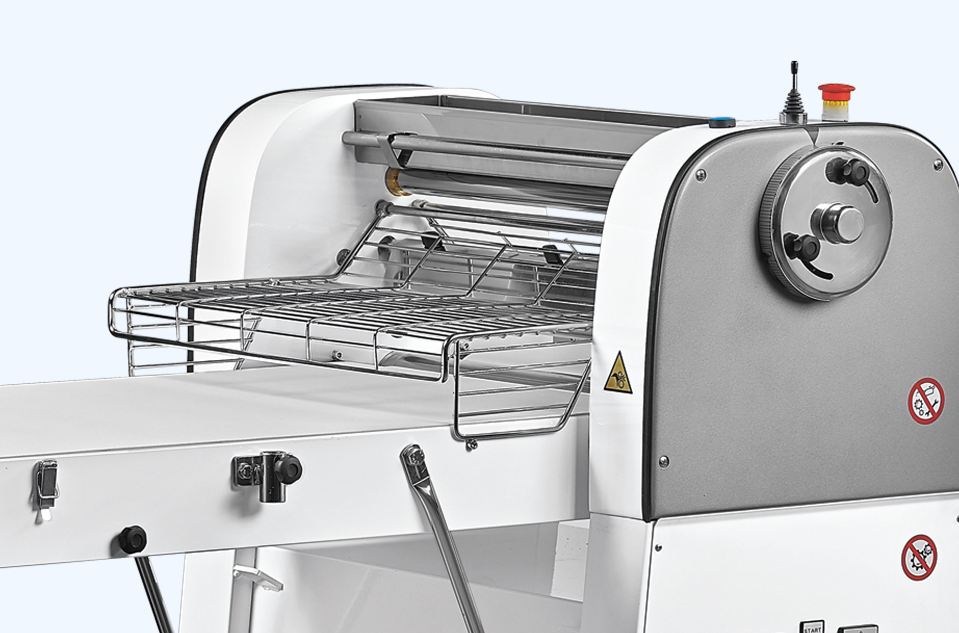 EASY Line Kemplex The effective and intuitive dough sheeter